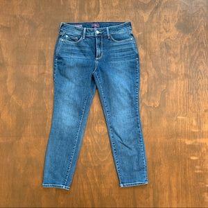 NYDJ Alina Convertible Ankle Capri Jeans